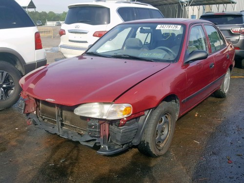 small resolution of 2001 chevrolet geo prizm lot 34279129