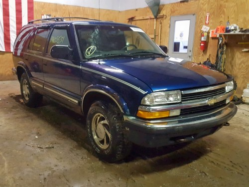 small resolution of 1999 chevrolet blazer 4 3l 6 for sale
