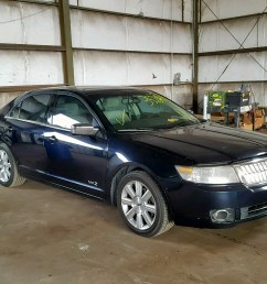 2008 lincoln mkz 3 5l 6 for sale [ 1600 x 1200 Pixel ]