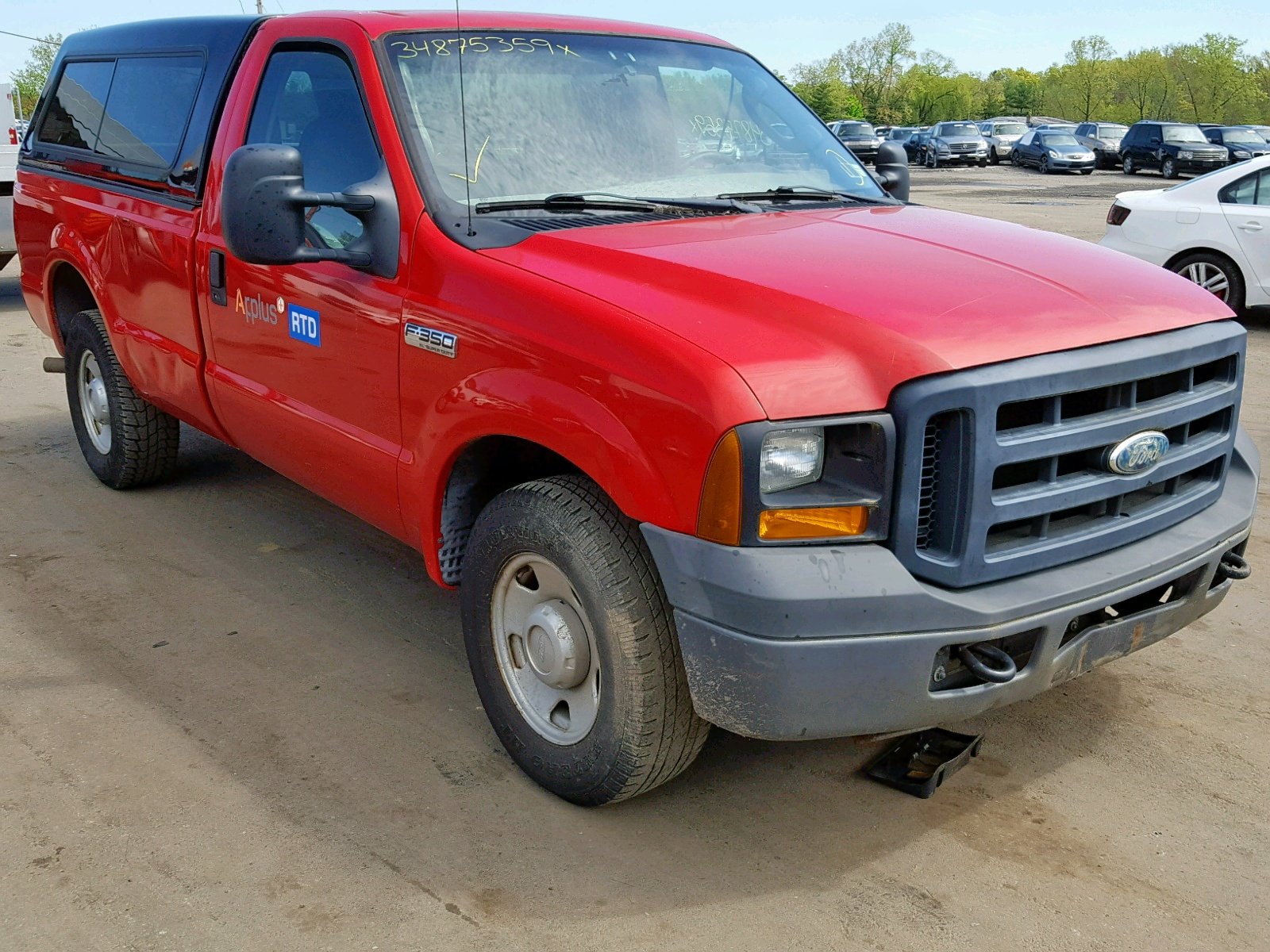 hight resolution of 1ftsf30546ed95705 2006 ford f350 srw s 5 4l left view 1ftsf30546ed95705