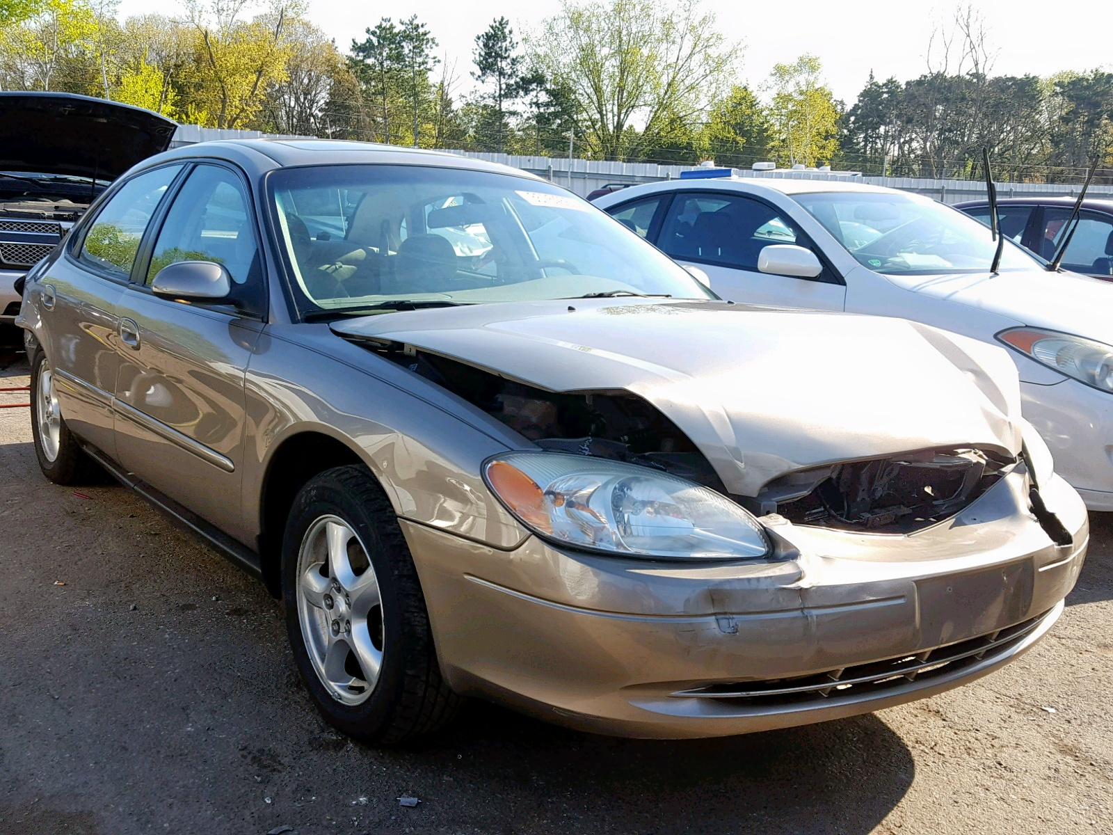 hight resolution of 1fafp55u53g244419 2003 ford taurus ses 3 0l left view 1fafp55u53g244419