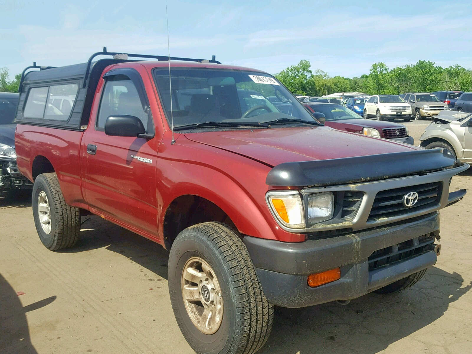 hight resolution of 1996 toyota tacoma 2 7l 4 for sale