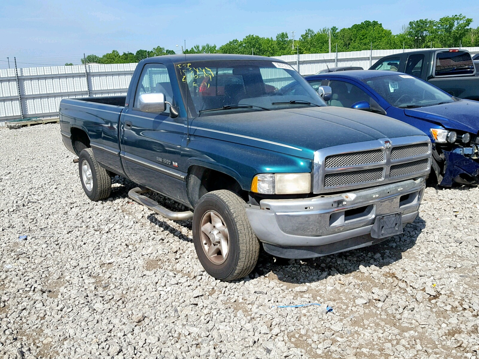 hight resolution of 1997 dodge ram 1500 5 9l 8 for sale