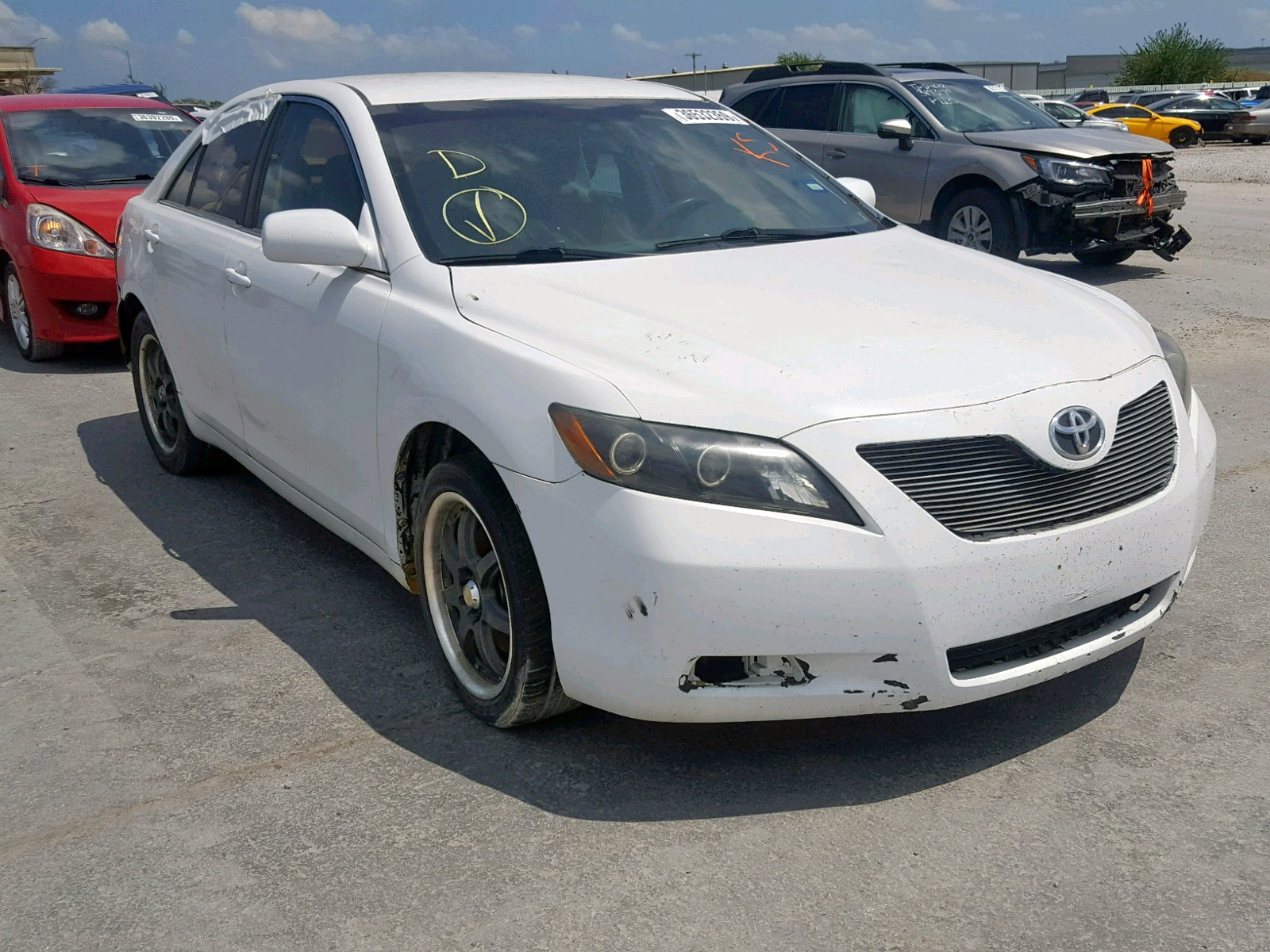 hight resolution of 2008 toyota camry hybr 2 4l 4 for sale
