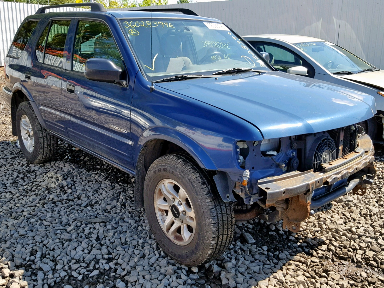 hight resolution of 2004 isuzu rodeo s 3 2l 6 for sale