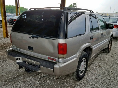 small resolution of  1gkdt13wxy2108967 2000 gmc jimmy en 4 3l rear view 1gkdt13wxy2108967