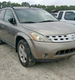 2004 nissan murano sl 3 5l 6 for sale [ 1600 x 1200 Pixel ]