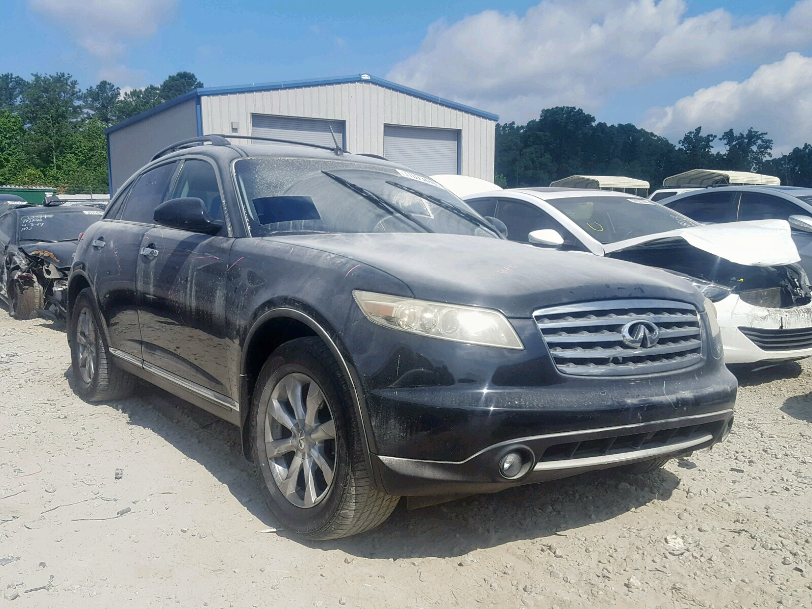 hight resolution of 2007 infiniti fx35 3 5l 6 for sale
