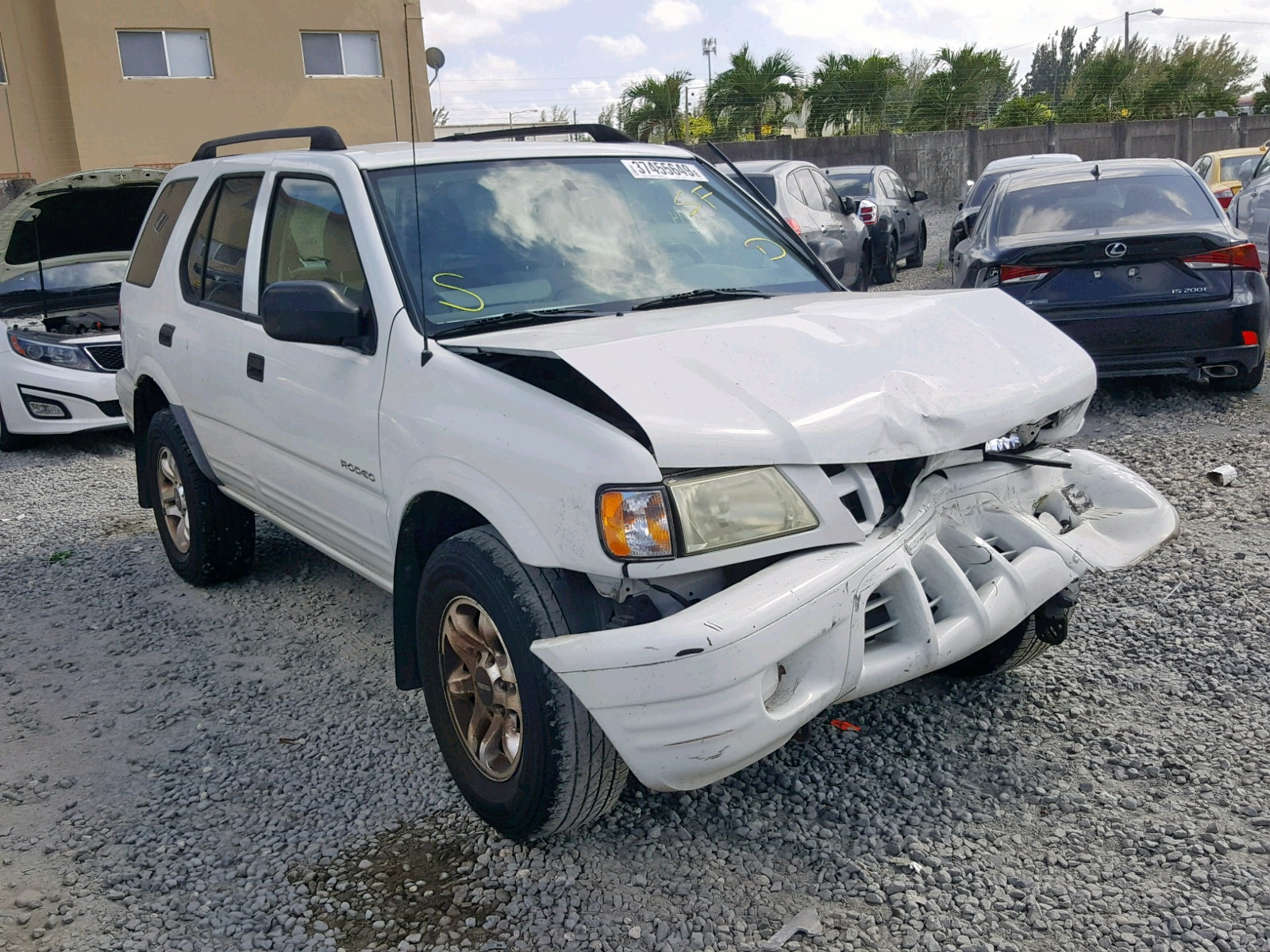 hight resolution of 2004 isuzu rodeo s 3 5l 6 for sale