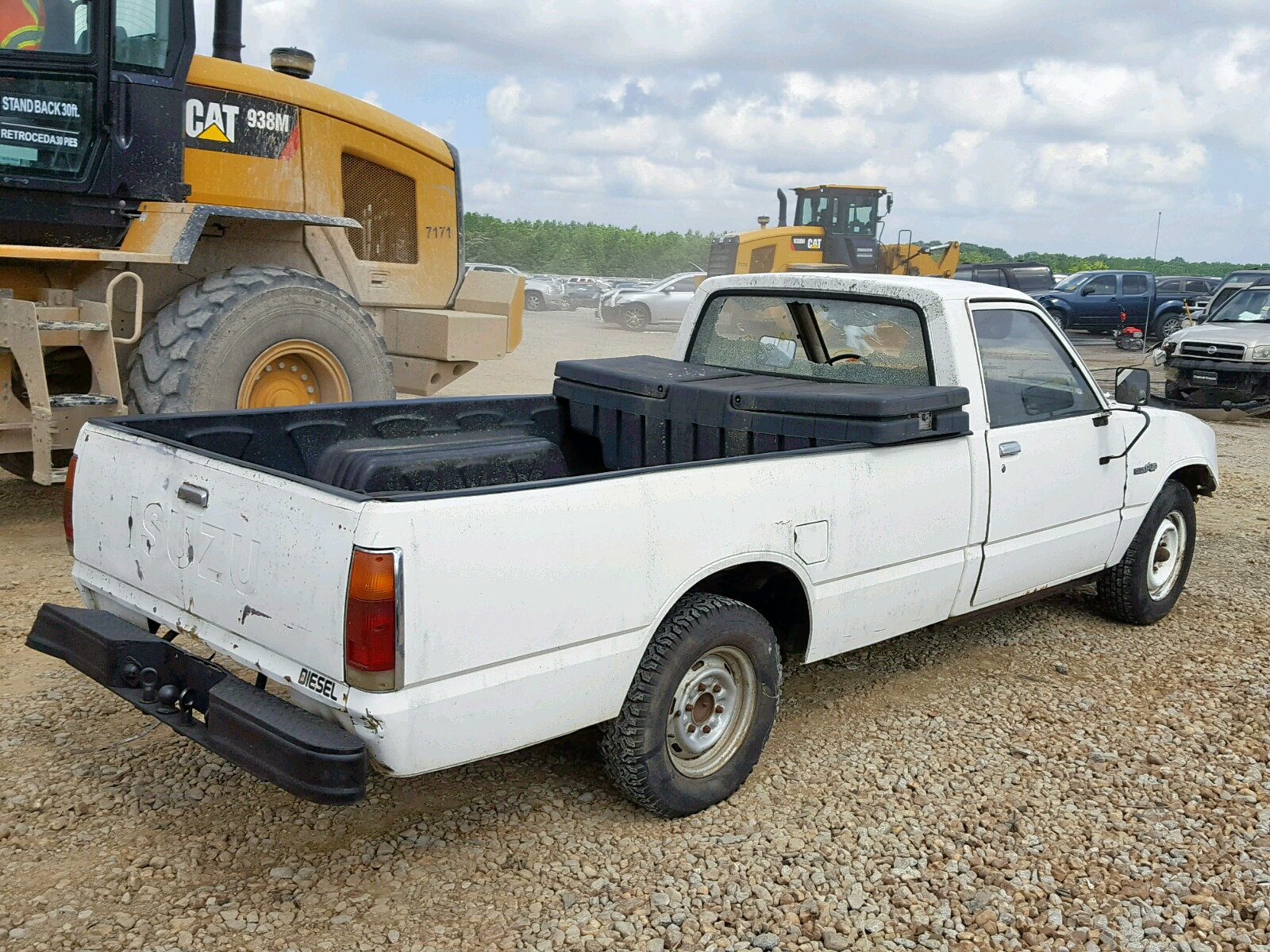 hight resolution of  jaacl14s9f0713355 1985 isuzu pup long b 2 2l rear view jaacl14s9f0713355