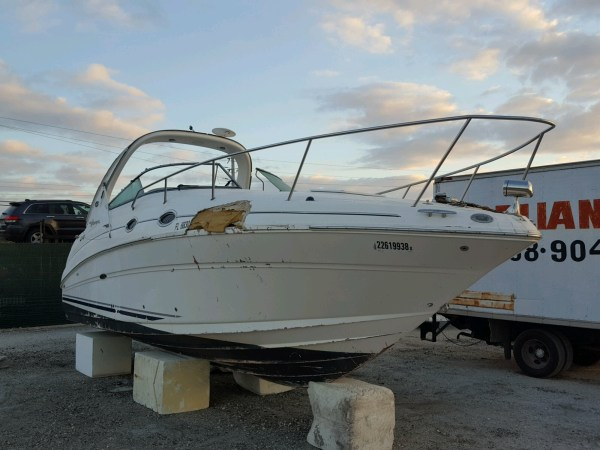 Salvaged Boats Auction - Autobidmaster