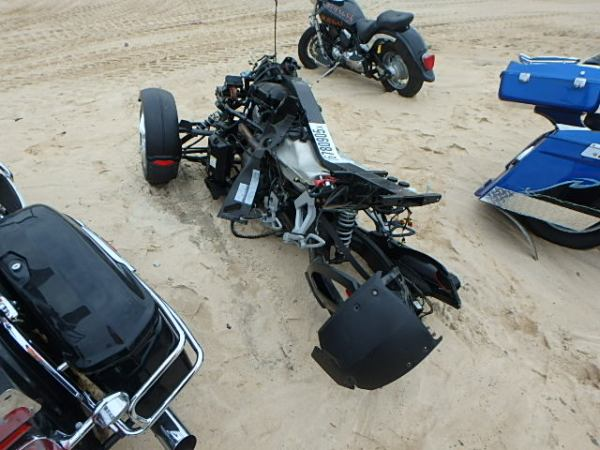 2009 CANAM SPYDER ROADSTER RS Photos Salvage Car