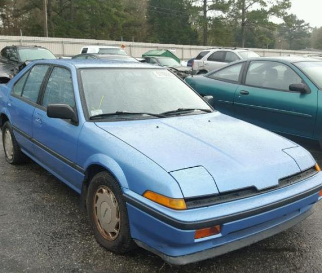 Auto Auction Ended On Vin Jhdahs  Acura Integra Ls In Al Mobile