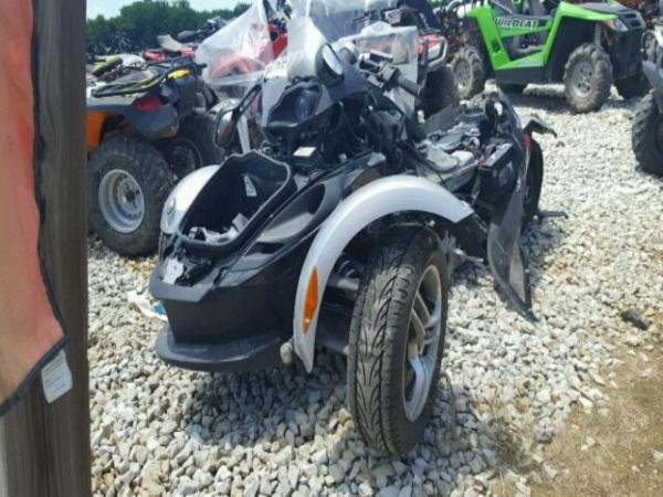 Wrecked 2009 CANAM SPYDER RS for sale in TN MEMPHIS