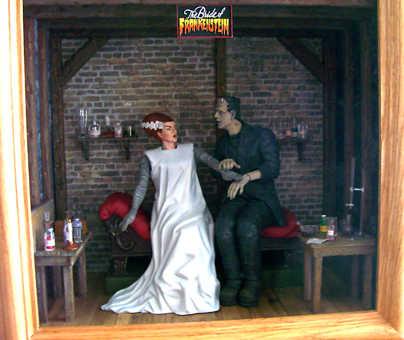 Moebius Models 18 Scale Bride Of Frankenstein May 2013