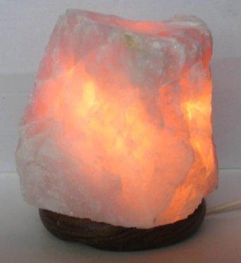 Lampada in Quarzo Rosa 23 Kg  Bio Luce