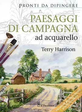 Paesaggi di Campagna ad Acquarello  Libro di Terry Harrison