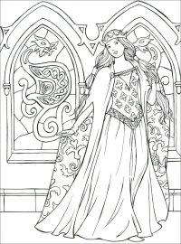 Principesse da Colorare - Macro C'arte - Libro