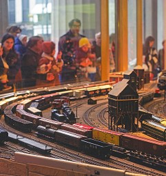 no you haven t wandered into the model railroader site by accident what you re looking at is in fact a model railroad but it was built and as of  [ 1200 x 800 Pixel ]