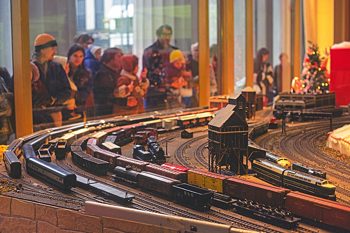 hight resolution of no you haven t wandered into the model railroader site by accident what you re looking at is in fact a model railroad but it was built and as of