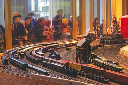small resolution of no you haven t wandered into the model railroader site by accident what you re looking at is in fact a model railroad but it was built and as of