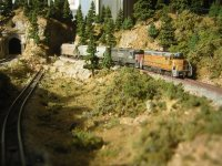Donner Pass in Z Scale