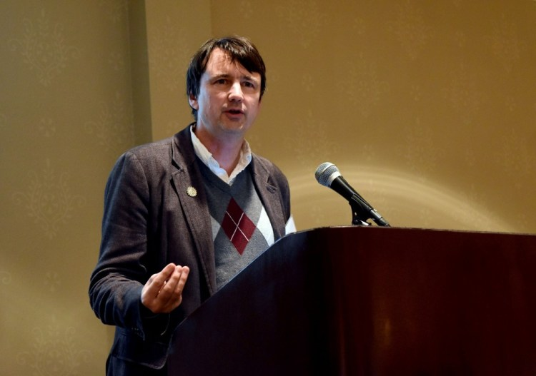 Invited keynote speaker, Dr. Jack S. Snoeyink, National Science Foundation (NSF) program director,