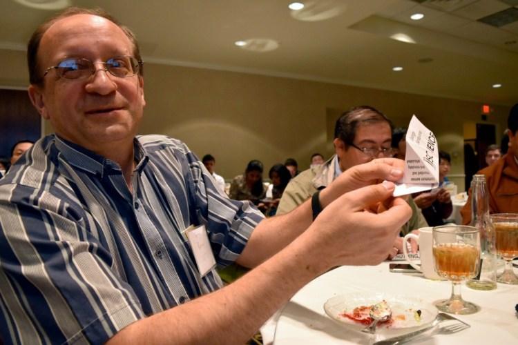 Dr. Sergey Bereg, Associate Director of UT-DIISC, founding member, and UT Dallas CS professor.