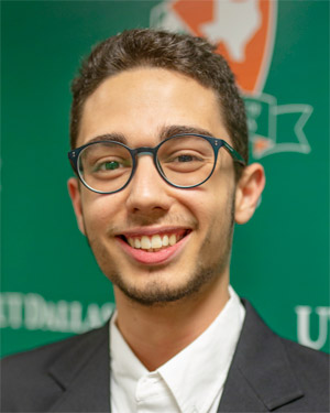 Omer Reshef, software engineering freshman USCF Rating: 2561 FIDE Rating: 2497