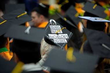 The Office Themed Graduation cap