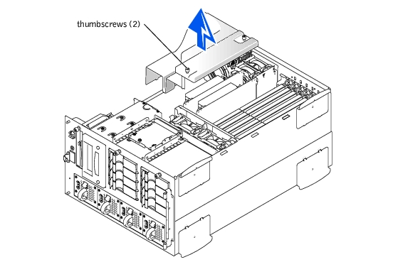 Installing System Board Options : Dell PowerEdge 4600