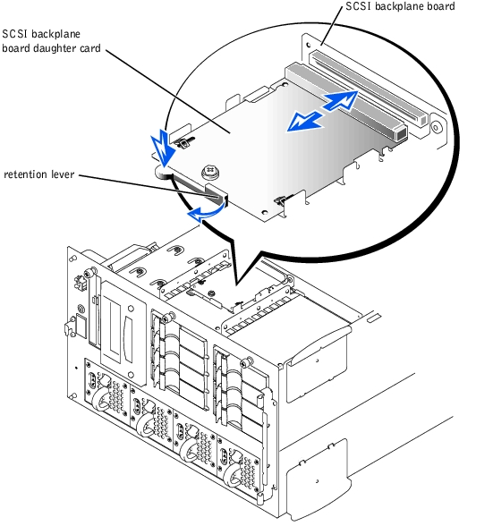 Installing Drives : Dell PowerEdge 4600 Systems