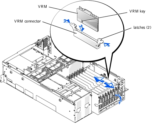 Installing System Options : Dell PowerEdge 6650 Systems
