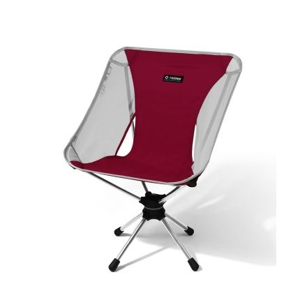 swivel chair not staying up revolving cushion helinox to 31 off with free s h campsaver rhubarb red hschairrb18
