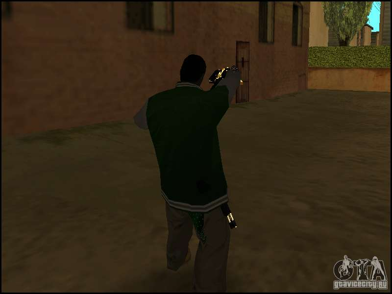 Weapon In One Hand For GTA San Andreas