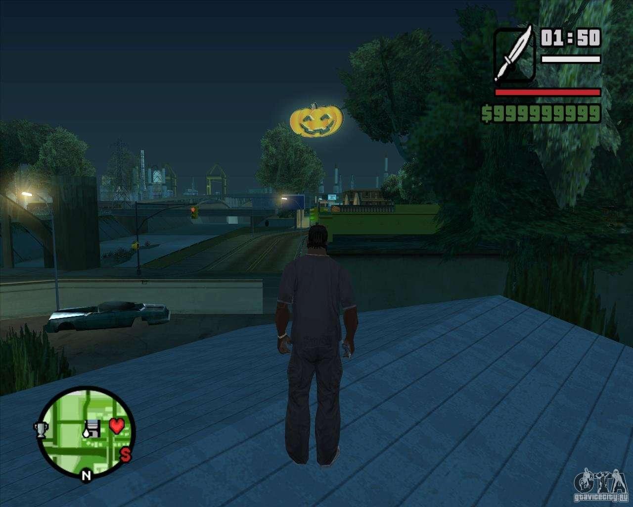 Happy Halloween Mod For GTA San Andreas