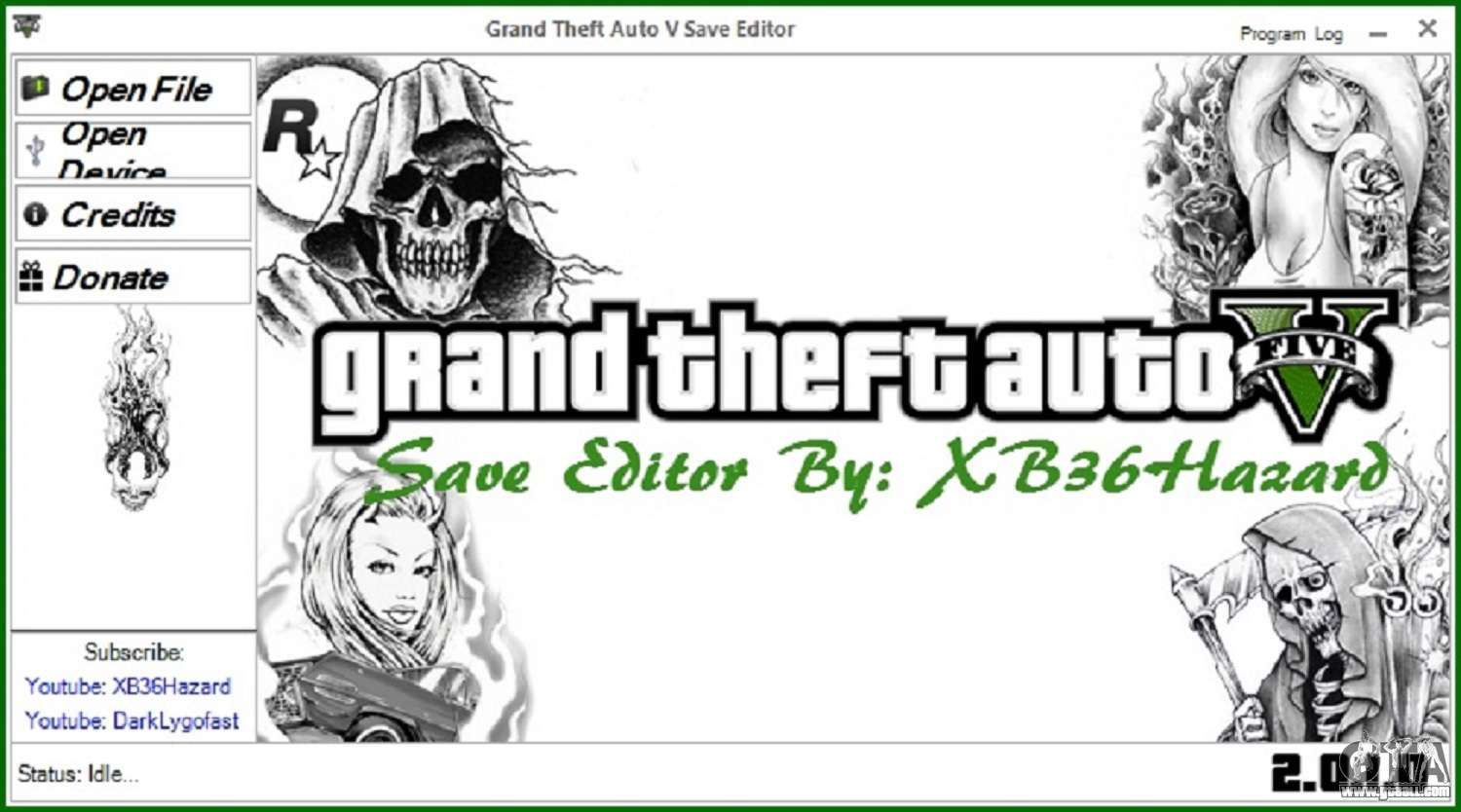 Grand Theft Auto V Save Editor V 2 0 1 0 For Gta 5