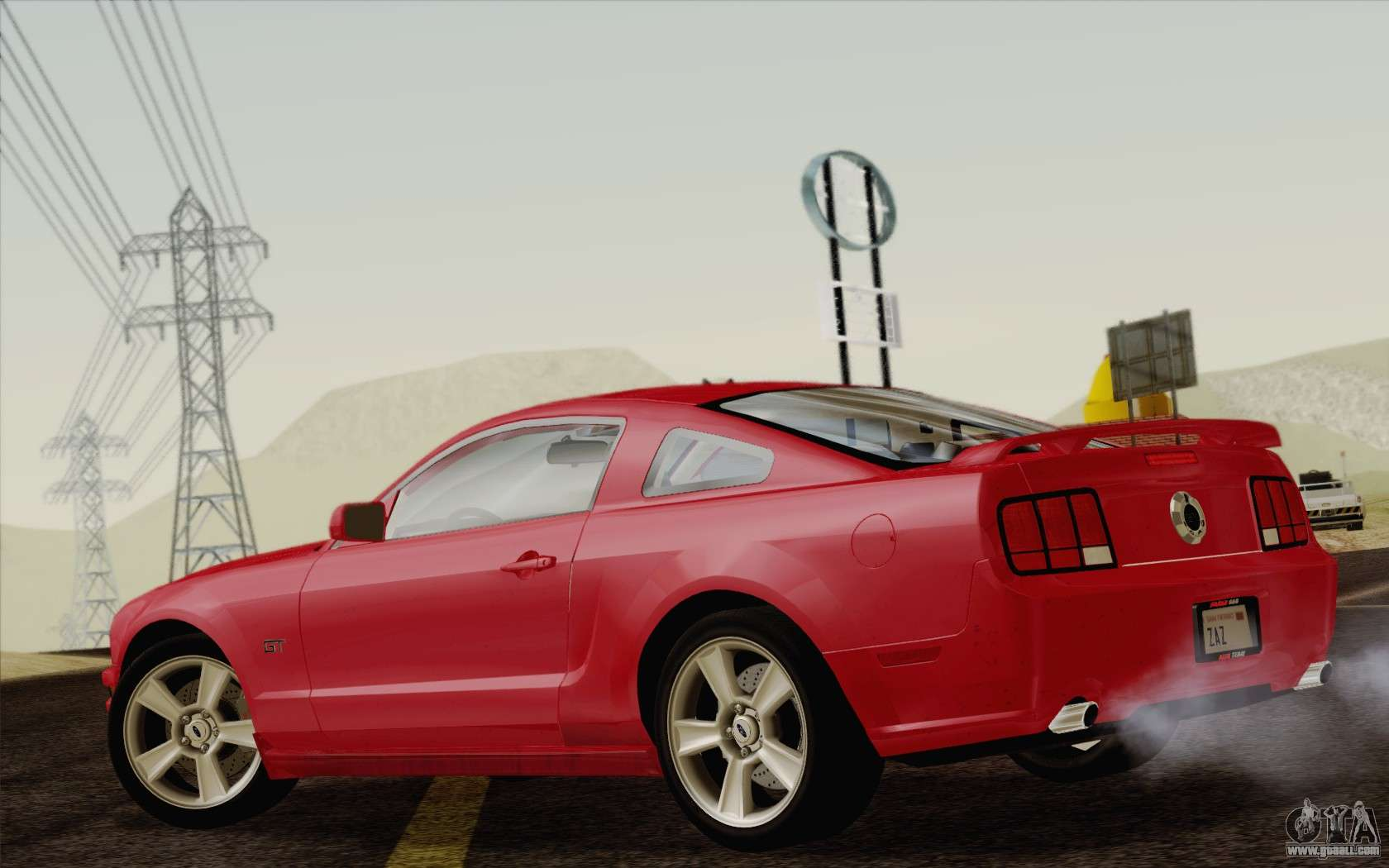 More powerful mustang gt variants are powered by a 5.0l v8. Ford Mustang Gt 2005 For Gta San Andreas