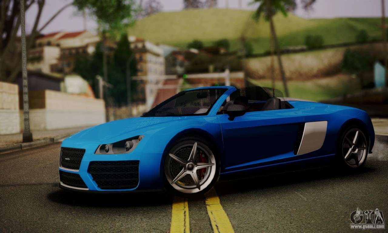 Obey 9F Cabrio For GTA San Andreas