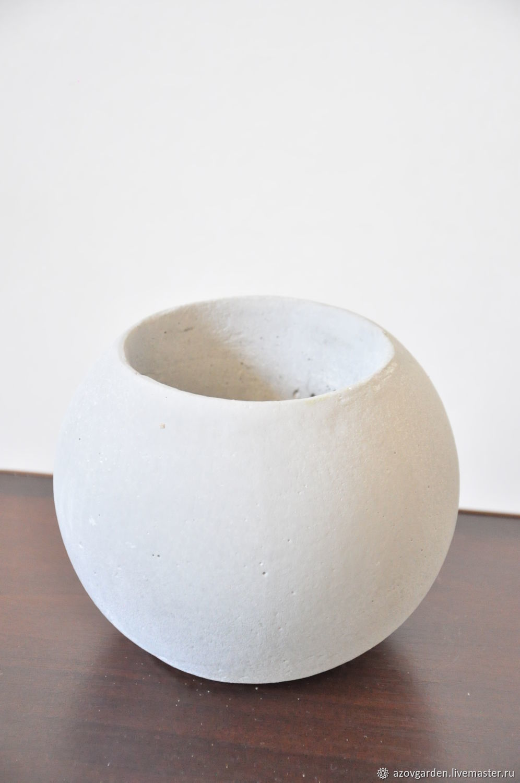 the ball of concrete