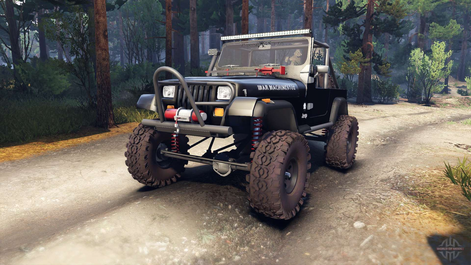 Open Jeep Car Wallpaper Jeep Yj 1987 Open Top Black For Spin Tires