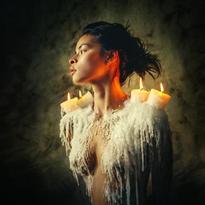 Свеча Фотограф, Модели, Арт, Огонь, Искусство, Длиннопост