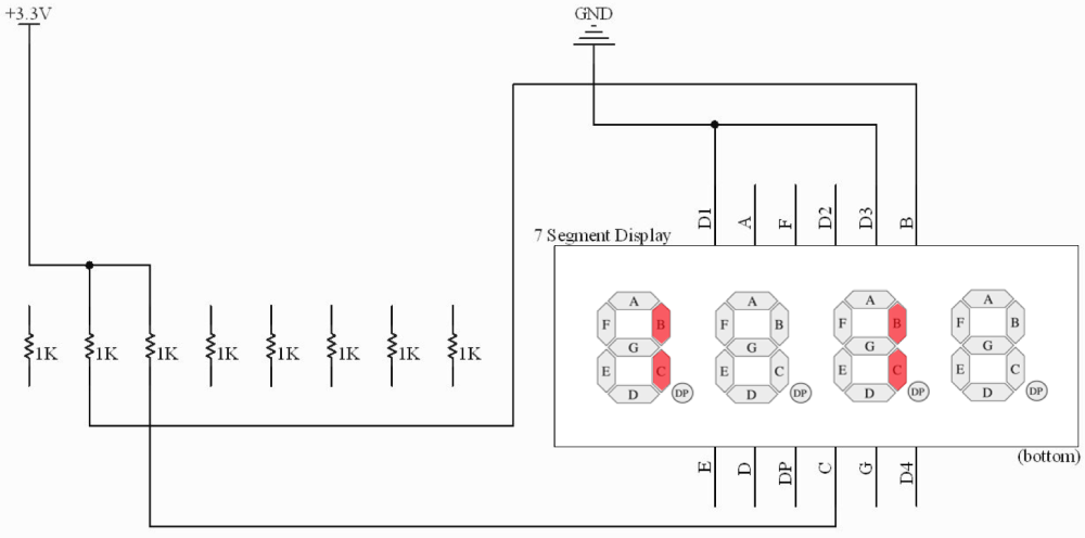 medium resolution of 1 1 circuit diagram wired breadboard with components
