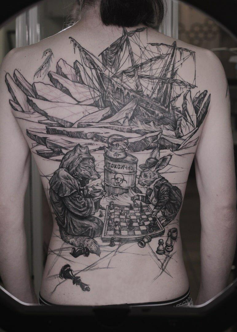 ещё одна история татуировки