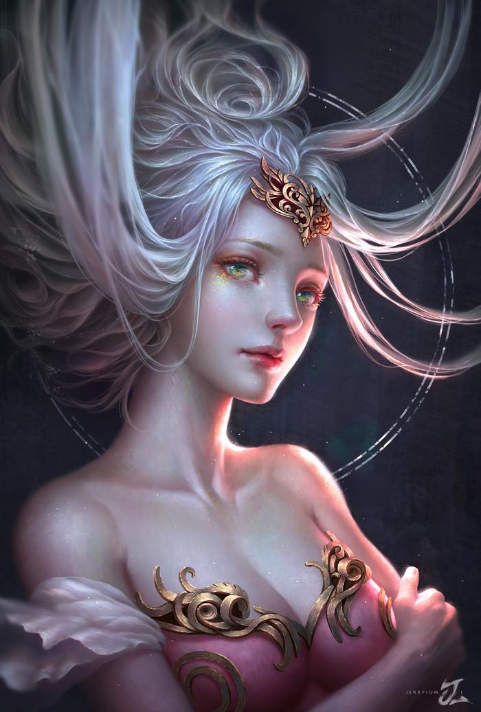 Принцесса Рисунок, Девушки, Принцесса, Арт