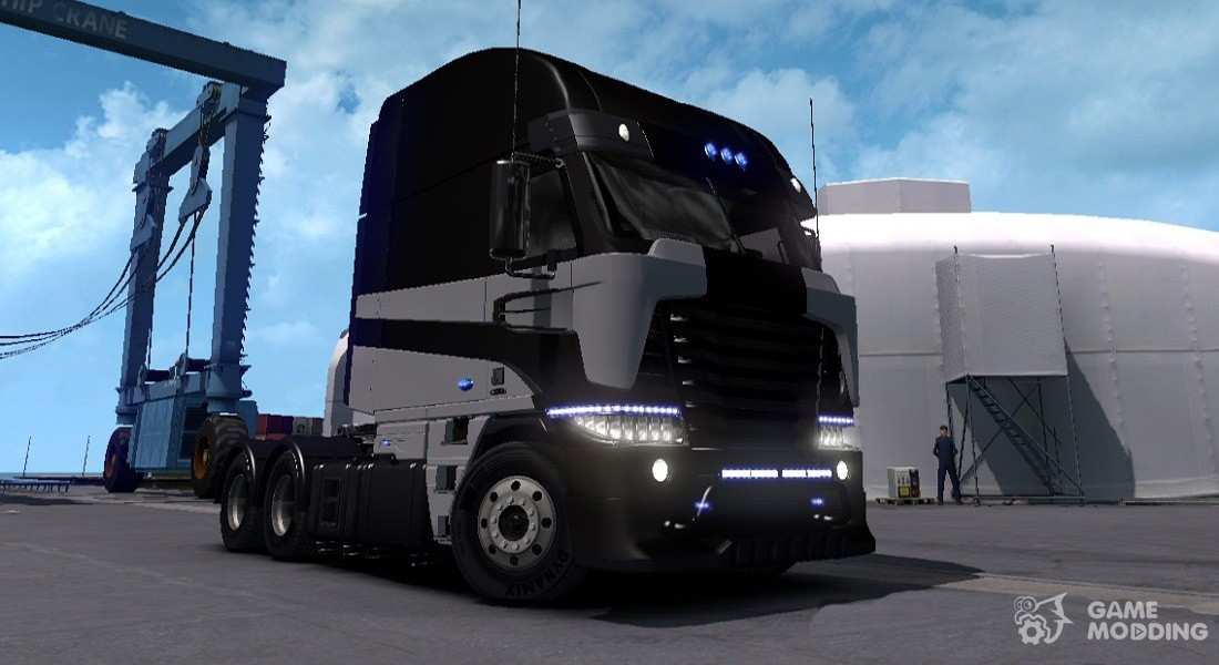 Tf 4 Galvatron For Euro Truck Simulator 2