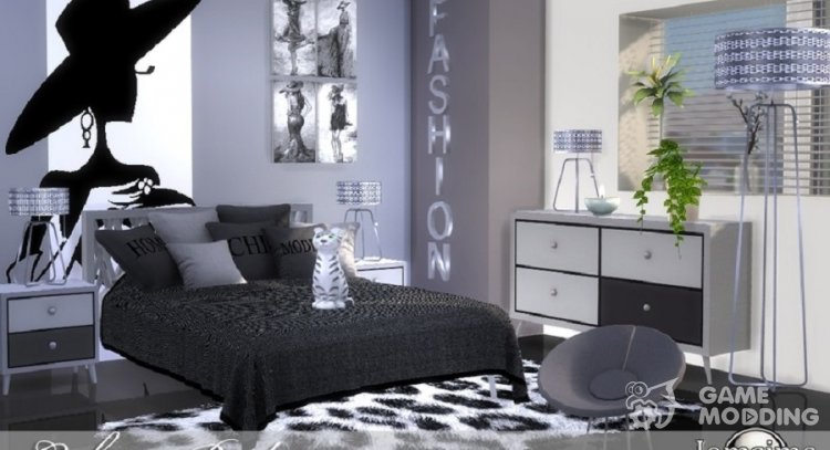 Caletta Adult Bedroom For Sims 4