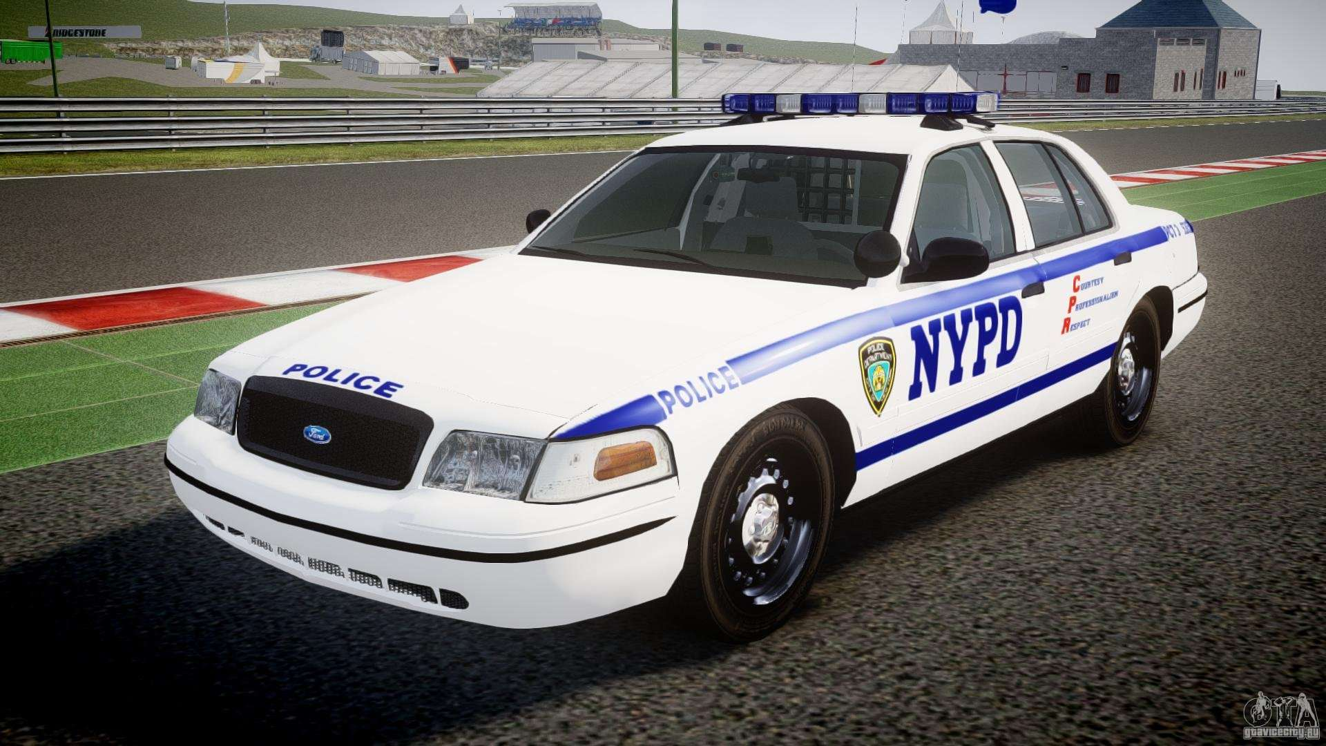 Crown Vic Car Wallpaper Ford Crown Victoria Nypd Els Para Gta 4