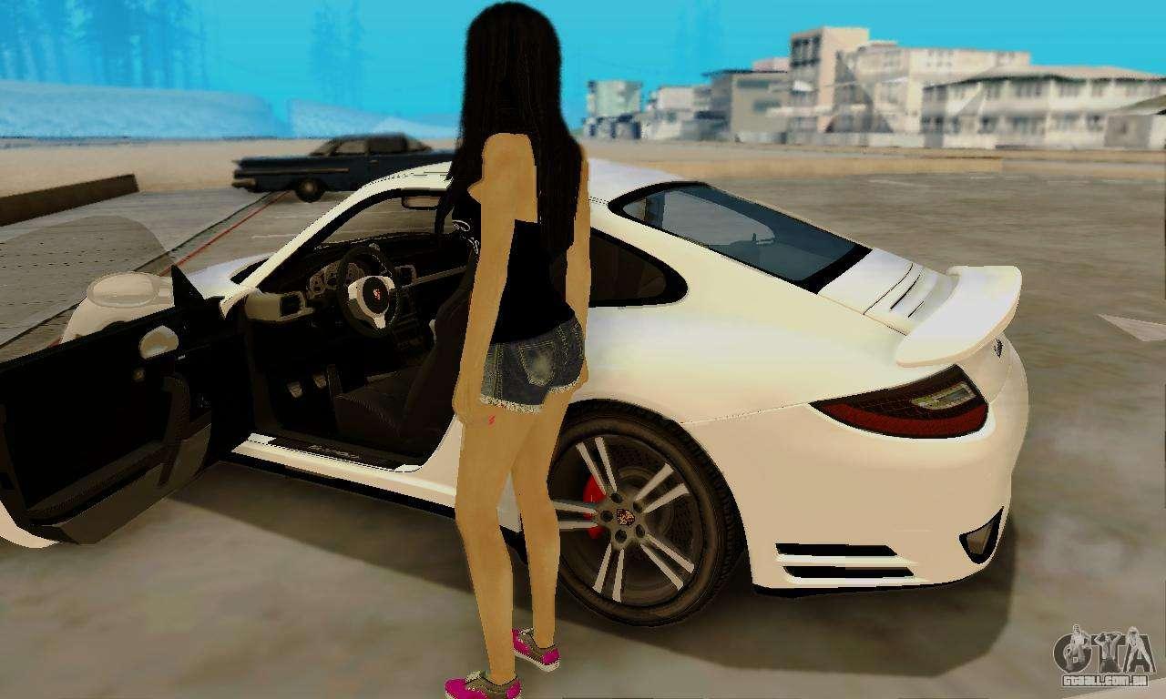 Gta 5 Beach Girl Wallpaper Jack Daniels Girl Skin Para Gta San Andreas
