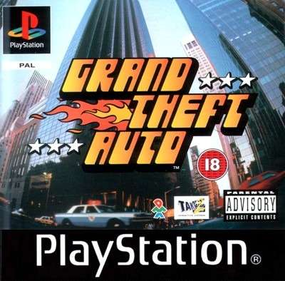 Releases Of The 90s GTA 1 For PS In Japan